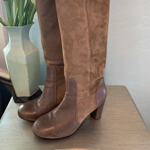 Clarke's suede boots
